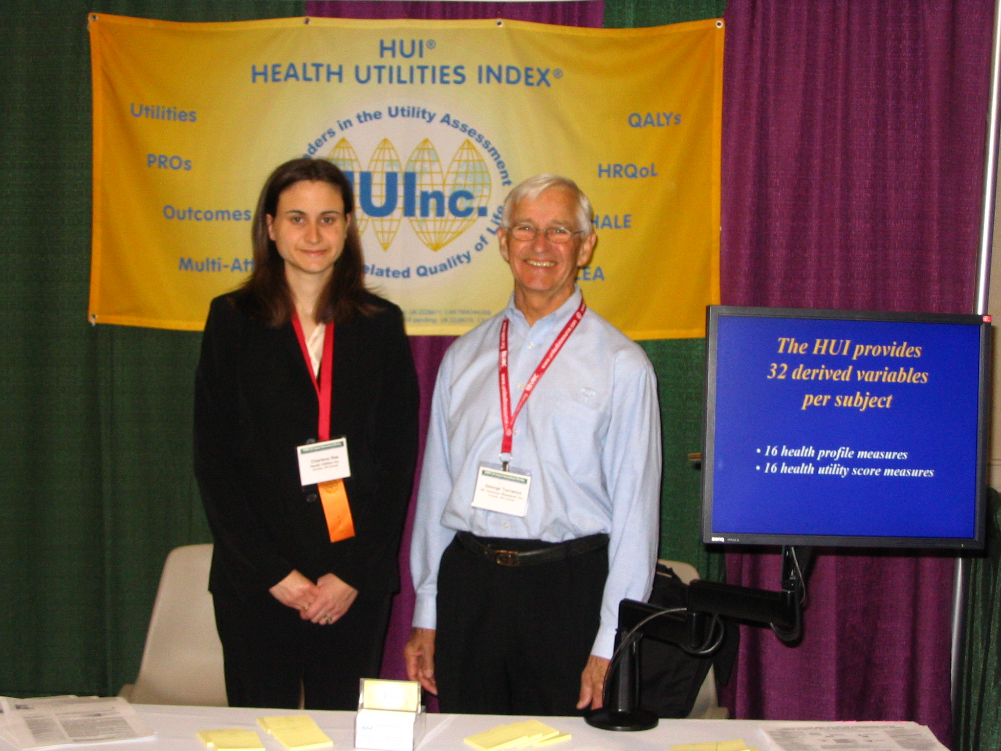 ISPOR Booth, May 2006
